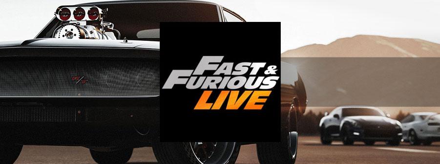 Fast & Furious Live (in Italia) al Pala Alpitour Torino | 2-4 febbraio 2018