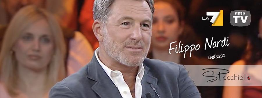 Filippo Nardi per Spocchiello in prima serata TV